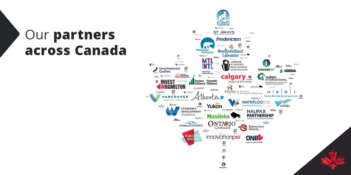 logos of economic development agencies in canada